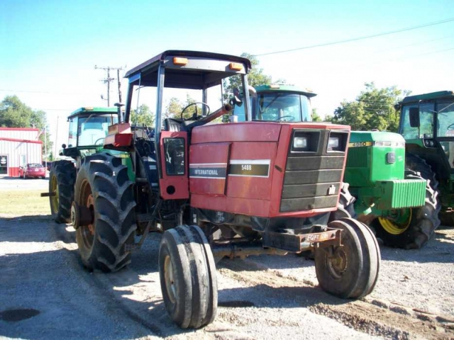 International Harvester Ih 5488 Salvage Tractor At Bootheel