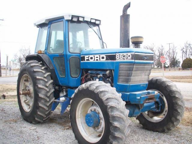 John Deere 8630 Picture 2