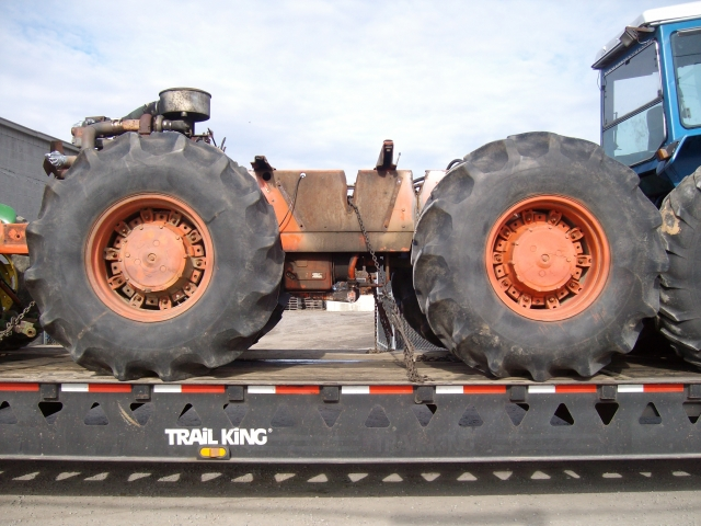 Case 4490 Tractor : Case salvage tractor at bootheel parts