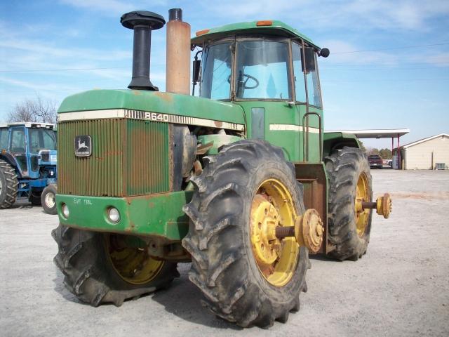 John Deere 8640 Picture 2