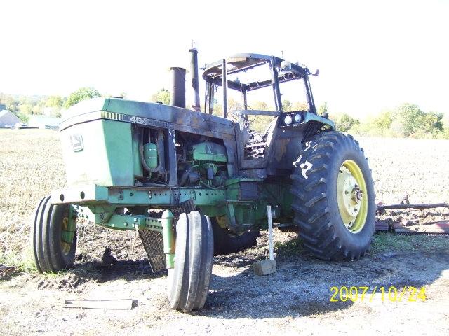 John deere 4640 salvage tractor at bootheel tractor parts