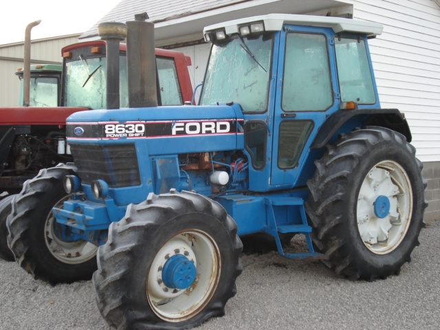New Holland Tractor Salvage : Ford new holland salvage tractor at bootheel