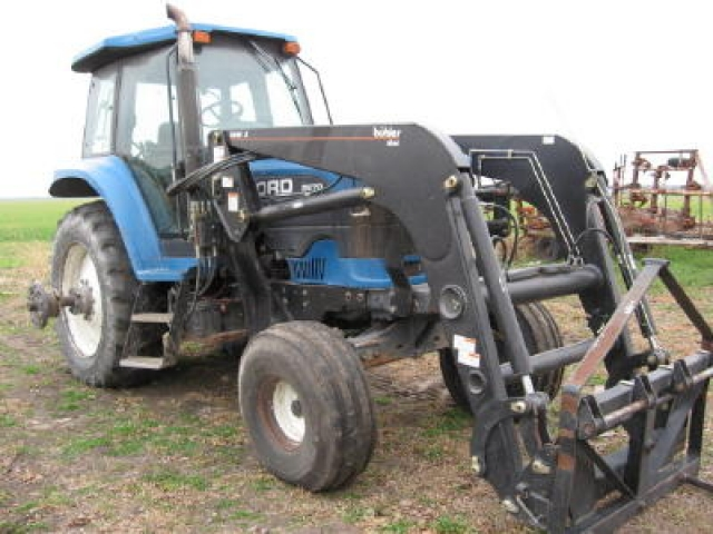 Ford Tractor Salvage Mo : Ford new holland salvage tractor at bootheel