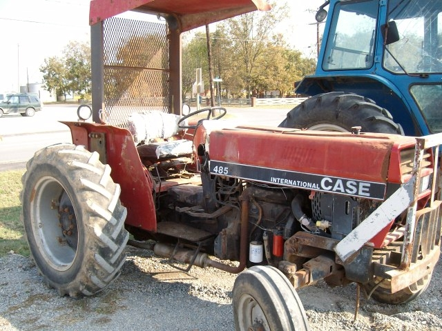 Case 485 Salvage Tractor At Bootheel Tractor Parts