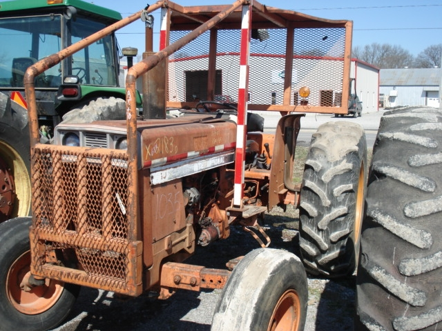 International Harvester 684 Tractor : International harvester ih salvage tractor at