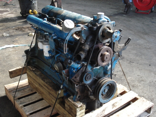 Ford Tractor Engine : Ford tractor rebuilt engine