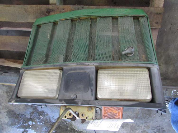 John Deere Tractor Grill : Grille screen sheet metal parts for john deere