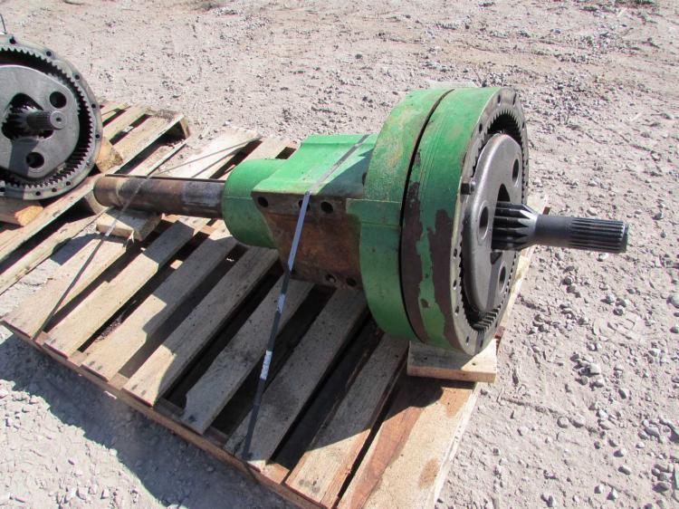 John Deere Tractor Axle : R a john deere wd axle hub parts