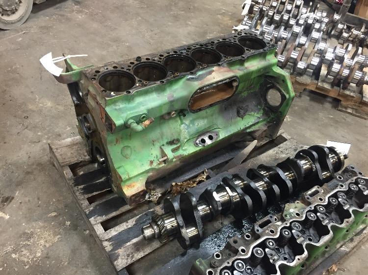 R49650 John Deere 4230 Cylinder Block Bootheel Tractor Parts