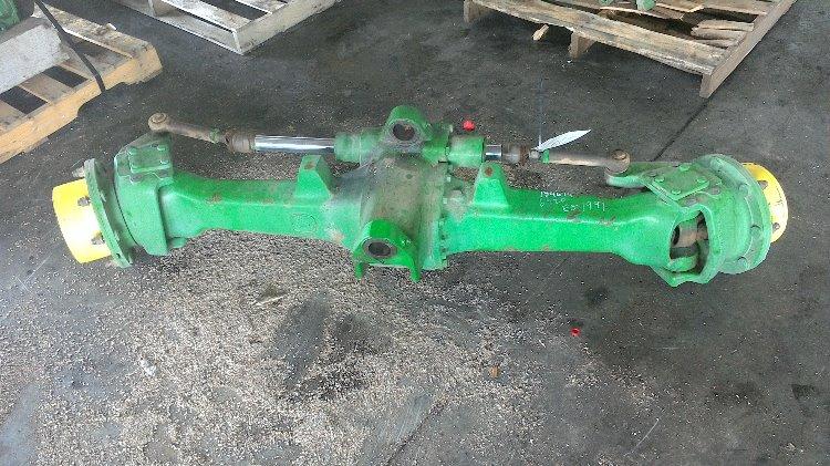 Tractor Front Axle Parts : Al john deere mfd front axle bootheel