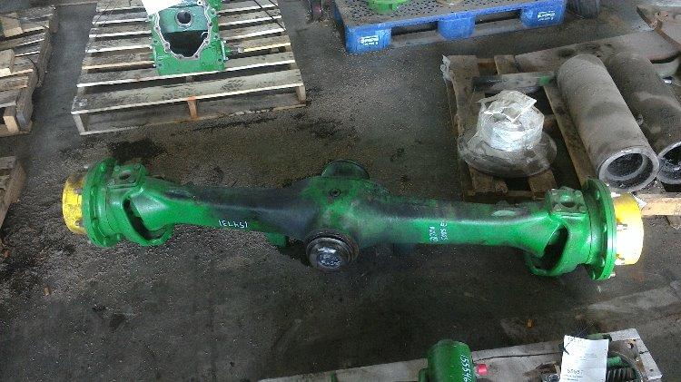 Tractor Front Axle Parts : Re john deere e mfd front axle bootheel