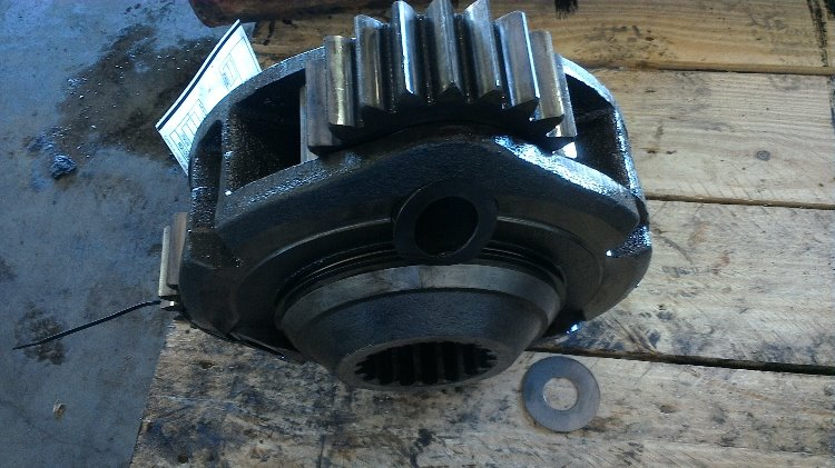 John Deere Rear Axle : John deere rear axle parts r a stock