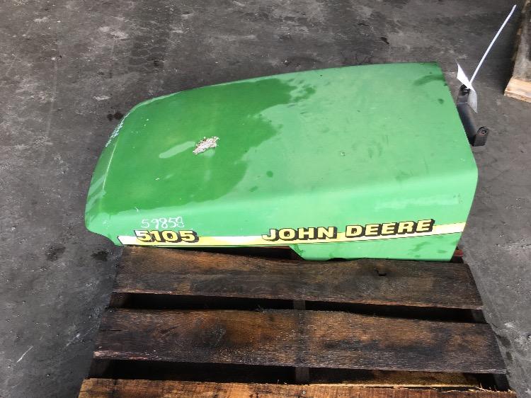 Used John Deere 5105 : John deere hood nose cone r a stock number