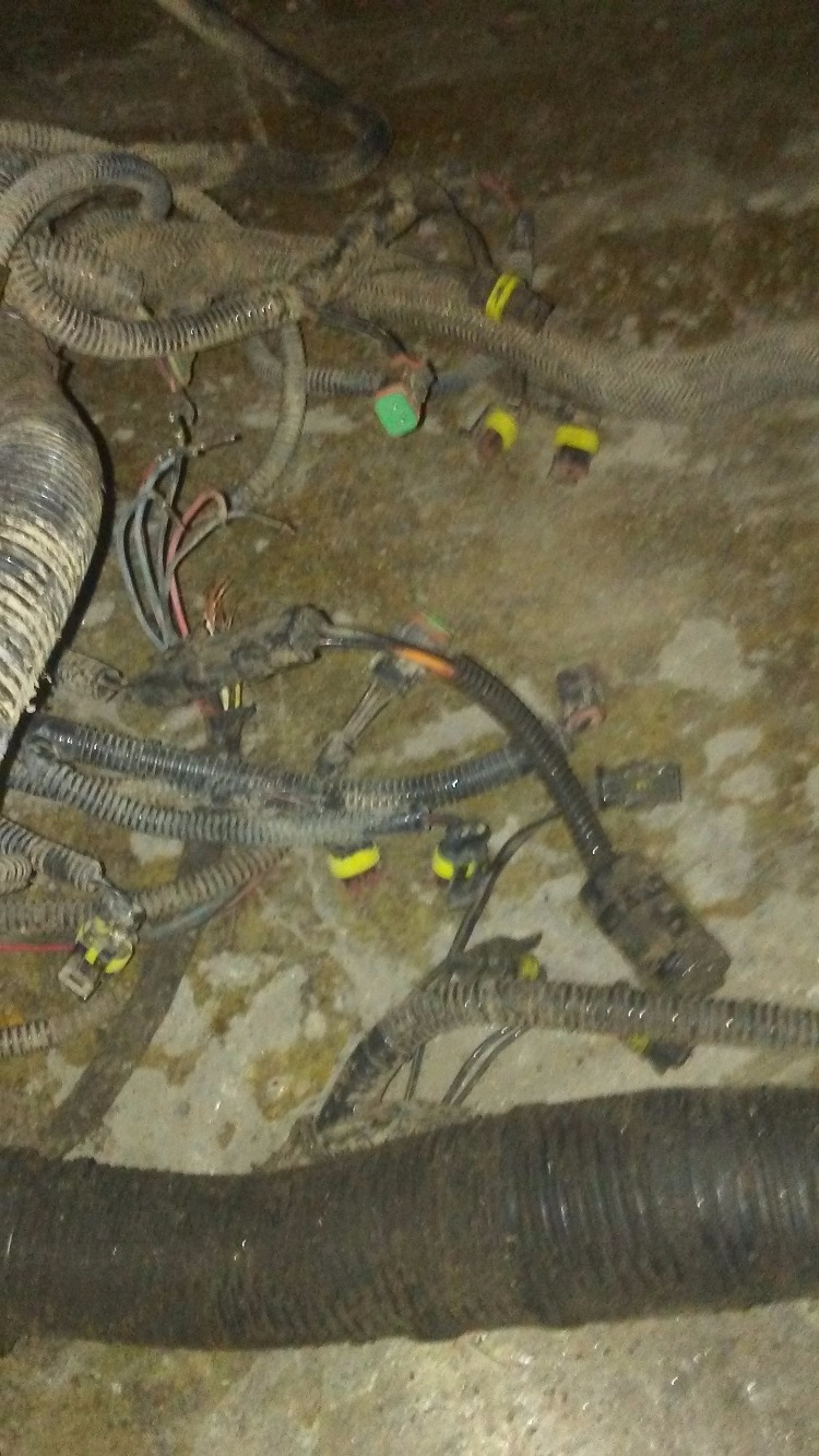 87444021a Case Ih Mx285 Wiring Harness Bootheel Tractor Parts For