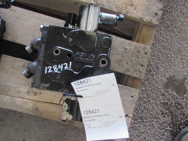 Hydraulic Controls Parts : A case i h mx hydraulic control valve