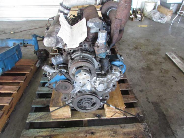 7600 Ford Tractor Parts List : Fd b  ford nholland engine bootheel