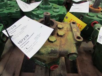 HYDRAULIC PUMP & PARTS - HYDRAULICS Parts for DEERE 2630 -