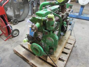 ENGINE COMPLETE - ENGINE Parts for DEERE 6605 -