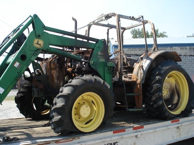 John Deere Tractor Backhoe Parts : John deere salvage tractor at bootheel parts