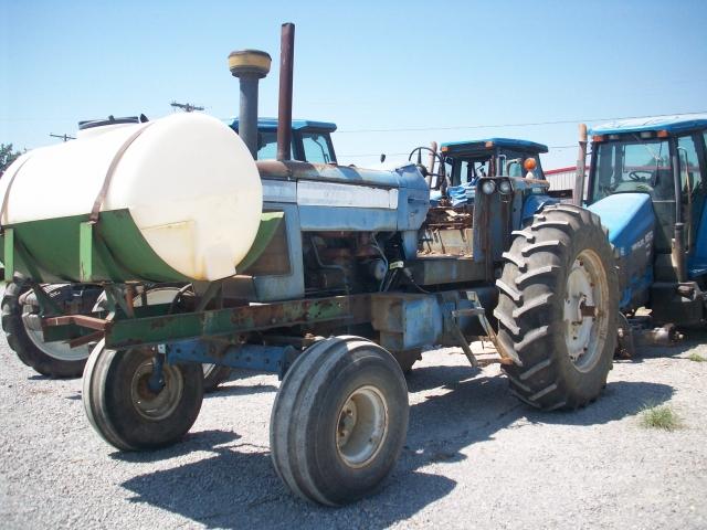 New Holland Tractor Salvage : Forbidden