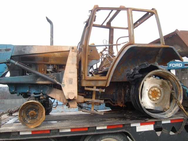 6640 Ford Tractor : Ford new holland salvage tractor at bootheel