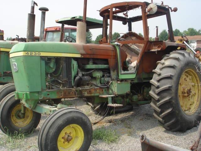 John deere 4230 salvage tractor at bootheel tractor parts