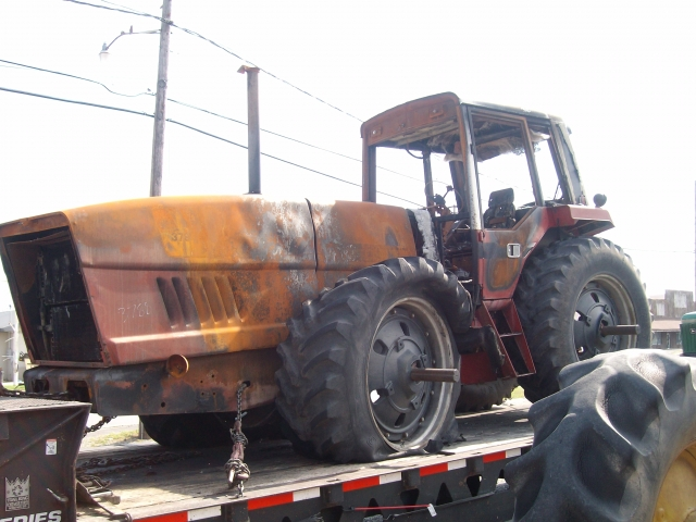 International Harvester Ih 3788 Salvage Tractor At