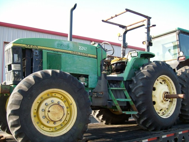 7600 Ford Tractor Parts List : John deere salvage tractor at bootheel parts