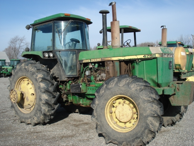 Used Engines For Sale >> John Deere 4755 salvage tractor at Bootheel Tractor Parts